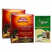 Vietnamese Coffee Pour Over Set - 2 Pack Trung Nguyen Gourmet Whole Bean... - $42.56