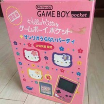 Nintendo Game Boy pocket Kitty Sanrio fortune-telling party limited rare... - $143.04