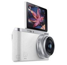Samsung SMART CAMERA NX Mini Body with 9mm Lens KIT White /20.5MP,W-iFi,NFC NEW image 3