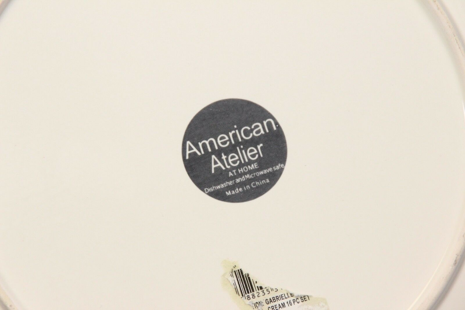 """American Atelier Gabrielle Dinner Plates 11"""" Set of 4 image 5"""