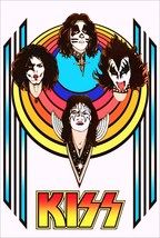 KISS Band 70's Era Reproduction Group Stand-Up Display - Rock Ace Frehley - $16.99