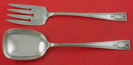 "Carthage by Wallace Sterling Silver Salad Serving Set 2-Piece 9 1/4"" Vintage - $289.00"
