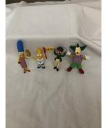 4 Bart Simpson PVC Figurines . - $18.00