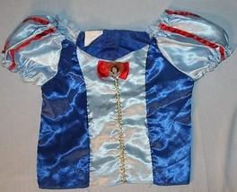 Biancaneve Disney Principesse Costume Top solo Sz 4 - 6 x Ragazze Camicia - $204,12 MXN