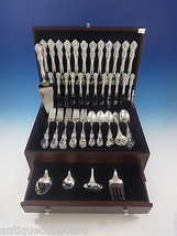 Debussy by Towle Sterling Silver Flatware Set For 12 Service 77 Pieces - $4,270.73
