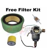 CARBURETOR FITS KOHLER CV740 CV745 ENGINE CARB OIL FUEL FILTER - $63.95