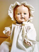 """1928 Horsman Baby Dimples composition doll 17"""" with shoes - $95.00"""