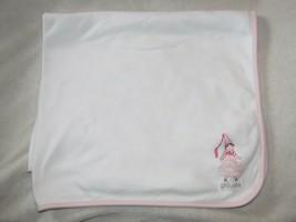 GYMBOREE PINK PRINCESS 2004 2005 Ivory White Reversible Baby BLANKET Wan... - $49.49