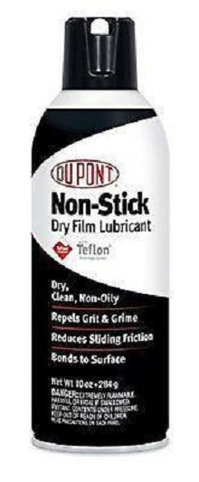 DuPont Teflon Non-Stick Dry-Film Lubricant Aerosol Spray, 10 Oz. for sale  USA