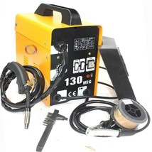 120AMP MIG130 110V Flux Core Auto Feed Welding Machine Welder W/Spool Wi... - $148.49