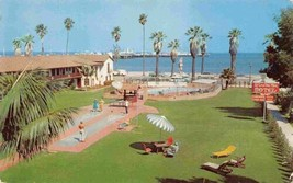 La Casa Del Mar Motel Santa Barbara California postcard - $4.90