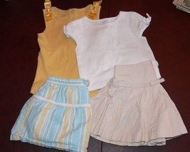 Lot of Toddler Girls Outfits Bodysuit Skirt Baby Gap Gymboree 18=24  mon... - $12.50