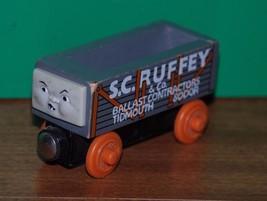 Thomas and Friends Wooden Railway S. C. RUFFEY Ballast Load Train orange wheels - $14.95