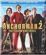 Blu-Ray - Anchorman 2: The Legend Continues (2013) *Will Ferrell / Paul Rudd* - $10.00