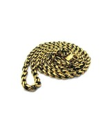 """Han Cholo Individual Rolo Chain Gold Brass with Antique Necklace 24"""" - $24.95"""