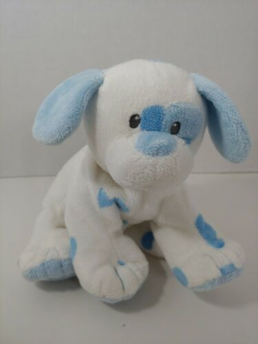 Primary image for Ty Pluffies Pups Blue white Plush puppy dog soft baby Toy stuffed animal