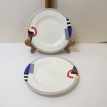 "2 Bread Plates High Spirits Mikasa Maxima Japan 6.5""  - $19.34"