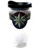 Marvel Captain Marvel Handwash Only BPA Free Plastic Travel Tumbler (22 ... - $17.81