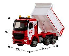 Yoowon Toys Titan Dump Truck Car Vehicle Sound Lights Heavy Equipment Play Toy image 3