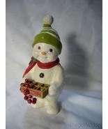 Bethany Lowe Deck the Halls Snowman no. TD 9080 - $27.49