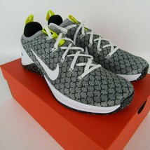 Nike Metcon DSX Flyknit 2X Mens Black White Yellow Training Running AO2807-017 image 2