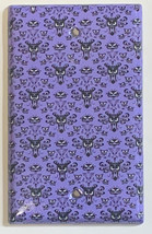 Haunted Mansion purple wallpaper Light Switch Outlet wall Cover Plate Home Decor image 9