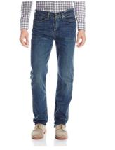 New NWT Levi's Men's 514 Straight Fit Stretch Jean, Ktown Blue, 30W x 32L - $30.19