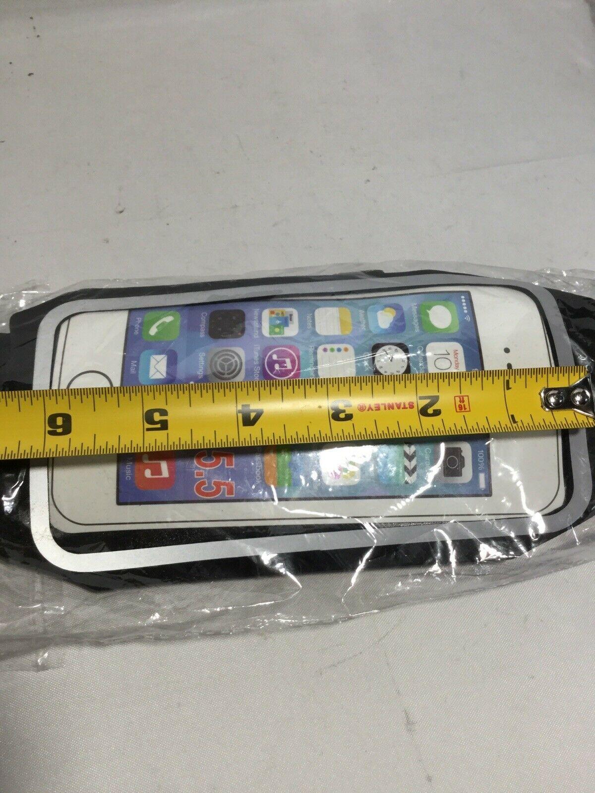 """Holder Running Belts Waist Fanny Pack Pouch Waterproof iPhone6G 5.5/"""" Screen"""
