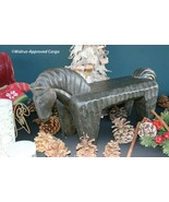 POTTERY BARN HORSE PLATFORM –NIB– SADDLE UP FOR A STRIKING WOODEN PIECE! - $149.95