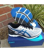 Asics men's gel-kayano 23 silver imperial black size 8 running shoes - $148.45