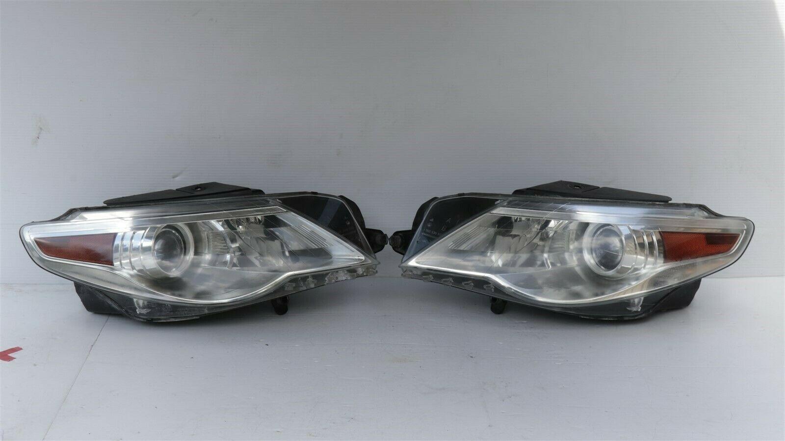 09-12 VW Volkswagen CC Xenon HID AFS Headlight Head Lights Matching Set L&R