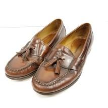 Johnston & Murphy Mens Sheepskin Tassel Loafers Dress Shoes Size 9.5 M B... - $32.67