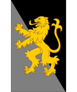House Corrino Dune Frank Herbert 3'x5' Black & Gray Vertical Flag Banner - $25.00