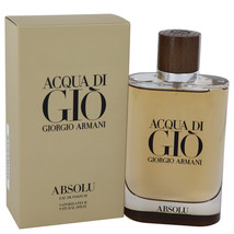 Acqua Di Gio Absolu by Giorgio Armani Eau De Parfum  4.2 oz, Men - $106.41