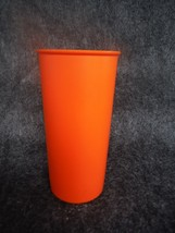 Tupperware 117 Orange 6 Ounce Tumbler - $2.69