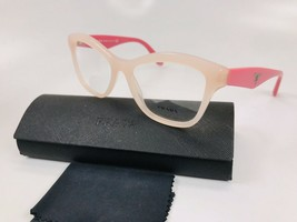 ✴ New Prada VPR 29R UEW-1O1 Two Toned Pink Eyeglasses 54mm with Prada Case - $76.18