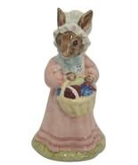 Royal Doulton Mrs Bunnykins At Easter Parade DB52 Signed Dawn Lammas 198... - $1,034.55