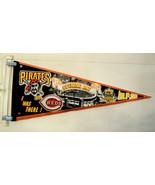 Pittsburgh Pirates Pennant PNC Park Opening Day vs Cincinnati Reds April... - $39.55