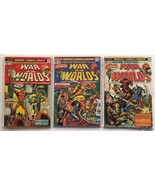 AMAZING ADVENTURES WAR OF THE WORLDS 22 25 26 MARVEL COMICS KILRAVEN SAG... - $24.08