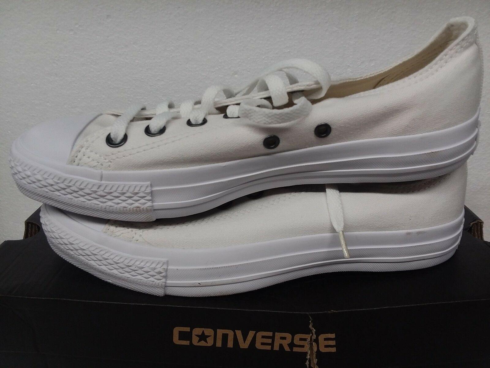 Converse Chuck Taylor All Star Ox 1U647 White monoch mens 7 womens 9