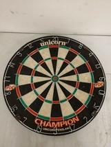 Unicorn  Champion Dartboard Championship  Bristle Dartboard ENGLAND - $39.59