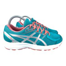 Asics Women's Jolt Running Shoes Teal Peach Running Athletic Shoes T7K8N... - $28.98