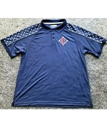 "Cleveland Indians ""Stars & Stripes"" True Fan Men's Polo Shirt NWT!! - $19.00"
