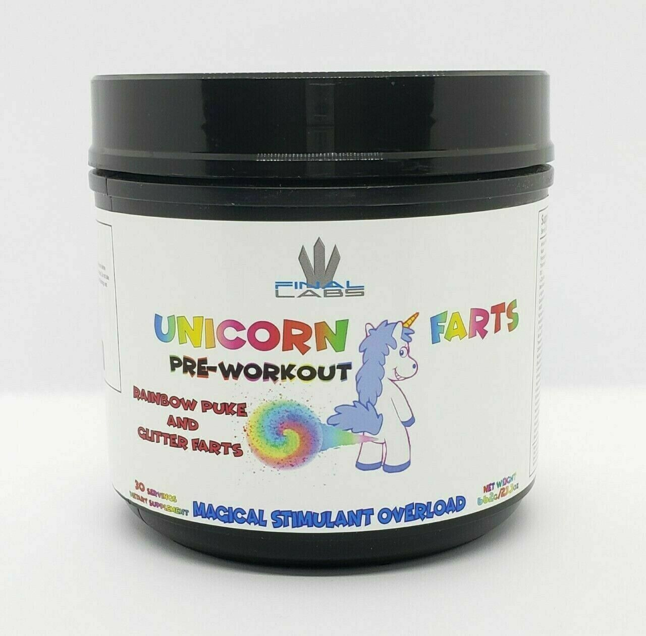Primary image for Final Labs Unicorn Farts Ultra Premium Pre-Workout, 30-60 Servings, Tutti Frutti