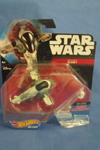 Toys Mattel NIB Hot Wheels Disney Star Wars Boba Fetts Slave I - $9.95