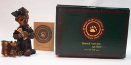 "Boyds Bearstone Collection EDMUND THE GRADUATE CARPE DIEM 4"" FIGURINE NE... - $19.80"