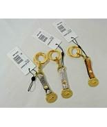 NWT! Rare Brahmin Valet Keyrings / Keyclip / Bag Charm in Snake Embossed... - $38.00