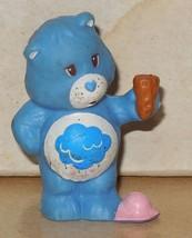 1984 Kenner Care Bears Grumpy Bear Mini Pvc Figure Vintage 80's #1 - $14.00