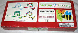 BACKYARD DISCOVERY ADVENTURE BUG BALL CROQUET COMPETING CRITTERS USA - $28.10