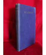 Albert Einstein RELATIVITY THE SPECIAL AND GENERAL THEORIES -1920 1st US ed - $698.25